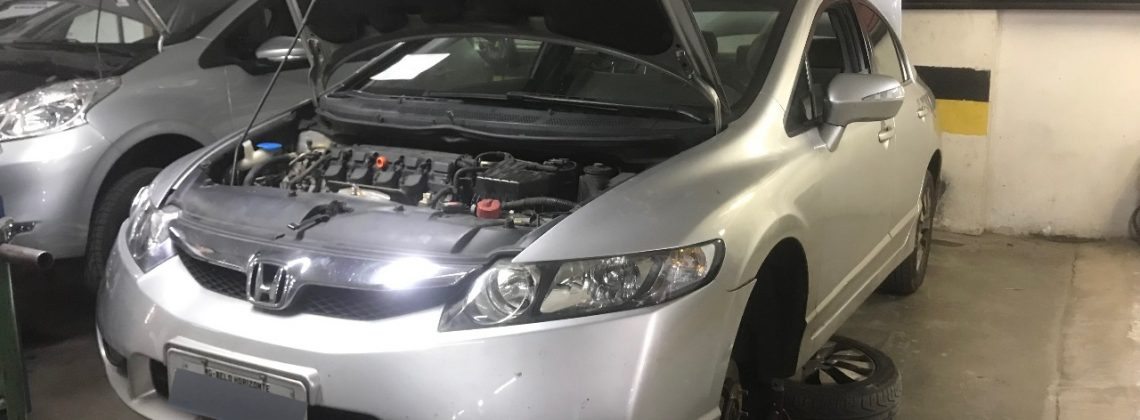 Revisão Honda Civic 2011